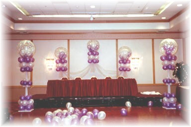 How to decorate with balloons, wedding balloons, wedding balloon